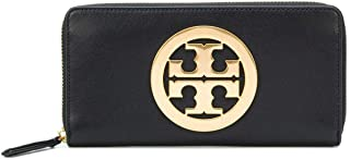 Tory Burch Charlie Zip Continental Wallet (Black)