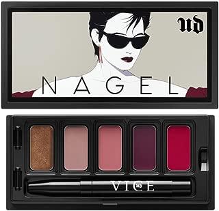 UD Urban NAGEL Vice Lipstick Limited Edition SUNGLASSES Palette: Roach + Oblivion + Backtalk + Troublemaker + Psycho