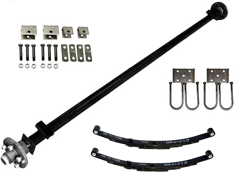 Dexter 3500 lb Light Duty Washington Mall Single Axle Dallas Mall - Kit Capacity 3.5K