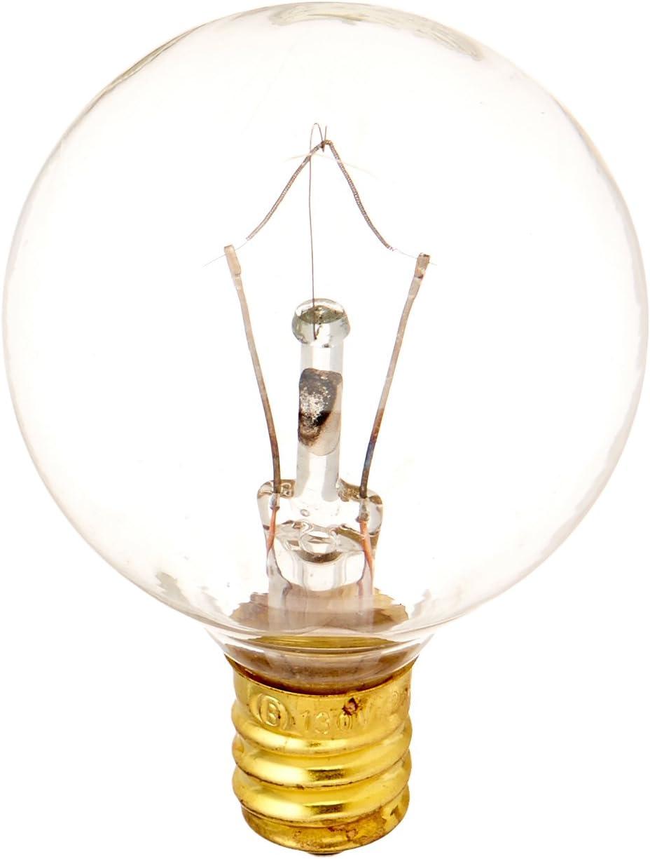 Bulbrite Incandescent G12 Candelabra Screw Base (E12) Light Bulb