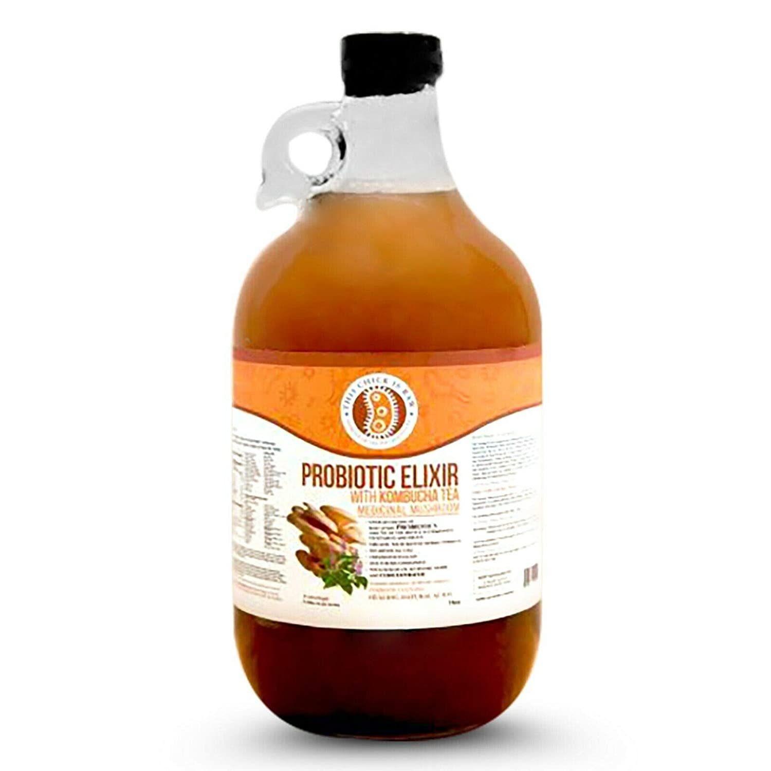 Probiotic Elixir Mushroom w Kombucha Tea This Is Chick Raw Over item handling Cheap mail order shopping H by