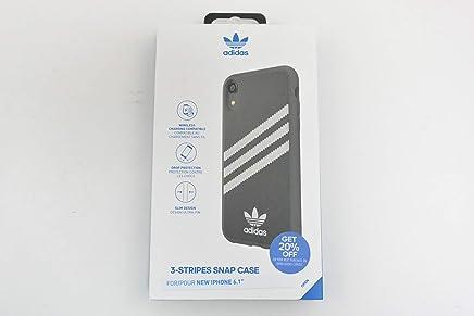 Adidas 31597 OR SAMBA Moulded Case PU FW18 black/white 〔iPhone XS/X用〕