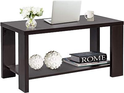 Amazoncom Sobro Soctb300whbk Coffee Table With