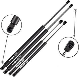 Maxpow 2 Tailgate and 2 Rear Window Glass Lift Supports Struts Compatible With Chevrolet Suburban Tahoe/GMC Yukon 2000 2001 2002 2003 2004 2005 2006 4185 4557