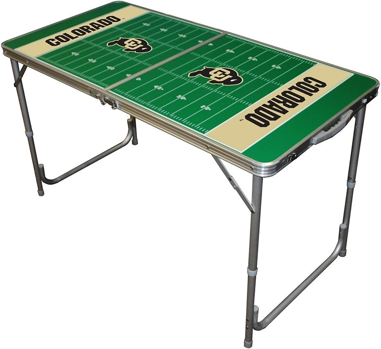 Wild Sports TTABLECOLO NCAA colorado Buffaloes 2x4 Tailgate Table