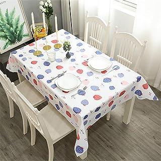 LMWB Bordsunderlägg, dukar, PVC bordsduk bordsduk vattentät och oljebeständig engångsbord-soffbordsmatta H_137 x 180 cm