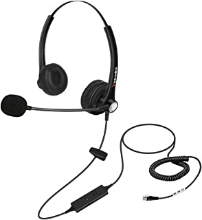 Xintronics Headset for Avaya 1608 1616 9040 9620 9630 9670 Panasonic Cisco 7910 7911 SNOM 320 360 370 710 720 760