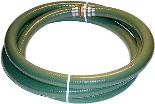 Tigerflex Series J PVC Suction Hose Assembly, Green, 4