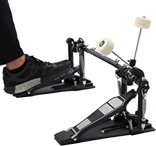 Heavy Duty Drum Pedal, Double Bass Dual Foot Kick Pedal...
