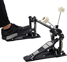 Heavy Duty Drum Pedal, Double Bass Dual Foot Kick Pedal Percussion Drum Set Accessories, 13.2x6.5x9.1 Inches (#1)