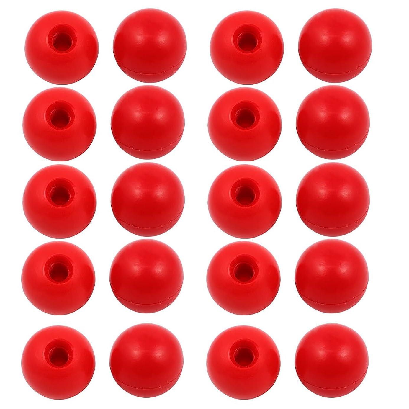 させる共産主義さておきuxcell マシンハンドルノブ M10 x 35mm ハンドボール ハンドルノブ プラスチックボール 20個入り