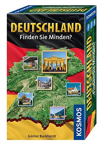 KOSMOS Spiele 711412 - Deutschland - Finden Sie Minden? (Mitbringspiel)