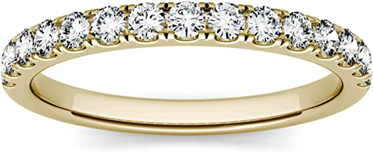 Forever One 2.0mm Round Moissanite Wedding Band, 0.45cttw DEW