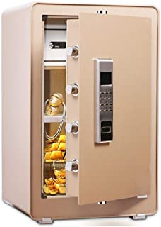 Safes Anti-Fire Anti-theft Electronic Wall Safe for Jewelry Security Paragon Lock Safe Home Cabinet Safe with Keys and Dig...