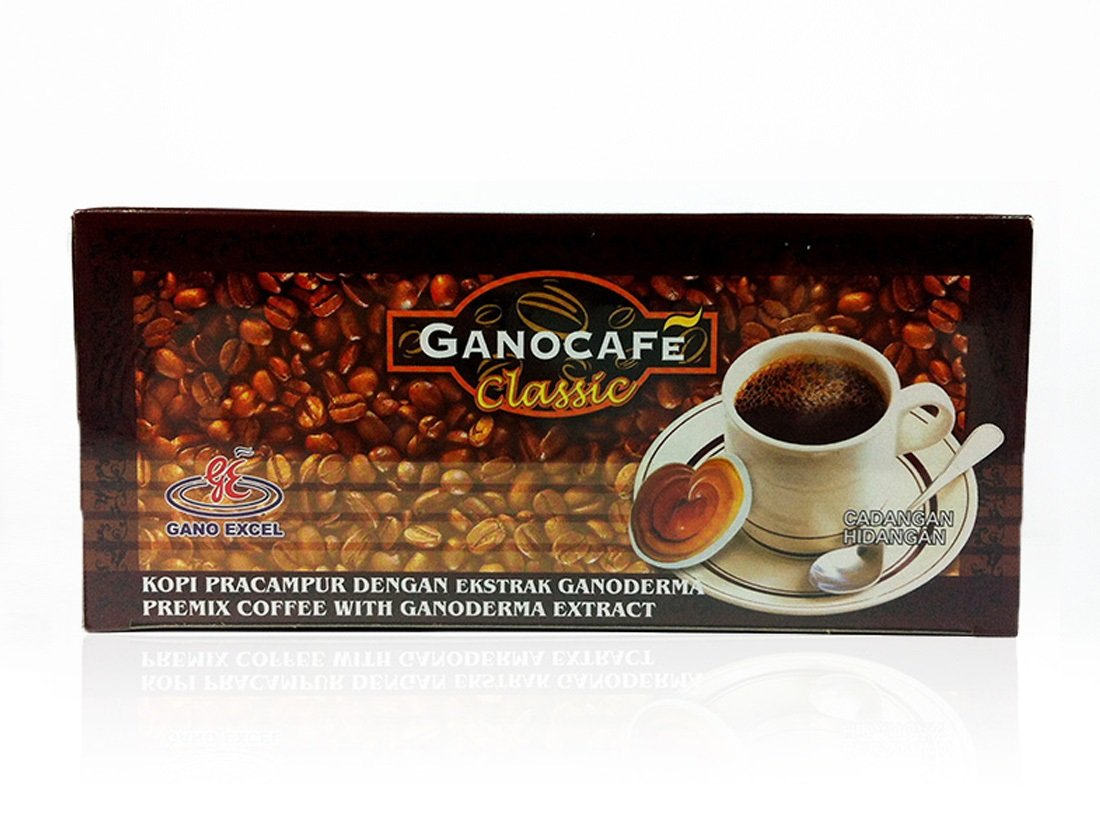 1 Discount mail order Box GanoCafe Excel Portland Mall 30 Sachets Coffee Classic
