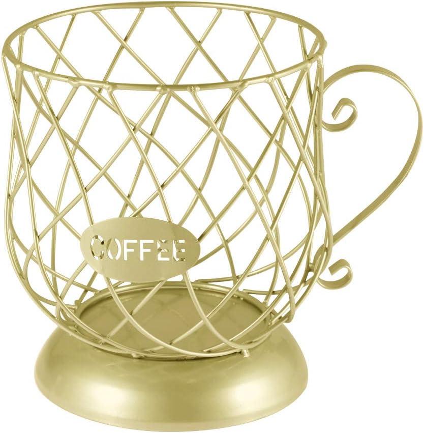 Coffee Storage Basket Coffee Pod Holders Coffee Capsules Stand O