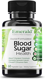 Emerald Labs Blood Sugar Health with Gymnema Sylvestre, Cinnamon Bark and Alpha Lipoic Acid to Support Glucose and Carbohy...