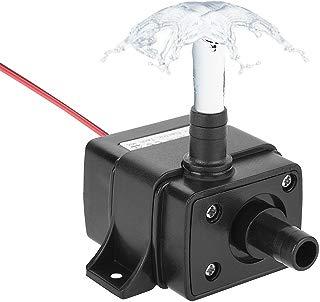 LEDGLE Mini Bomba de Agua Ultra Silencioso 240L/H Bomba Sumergible 3.6W Bomba de Circulación Para Pecera Acuario Jardín, Estanque, Fuente