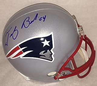 Tedy Bruschi signed autographed f/s replica Helmet JSA LOA Patriots autograph auto