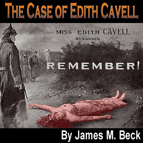 The Case of Edith Cavell audiobook cover art