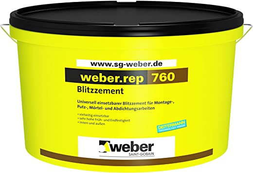 weber.rep 760 – Blitzzement