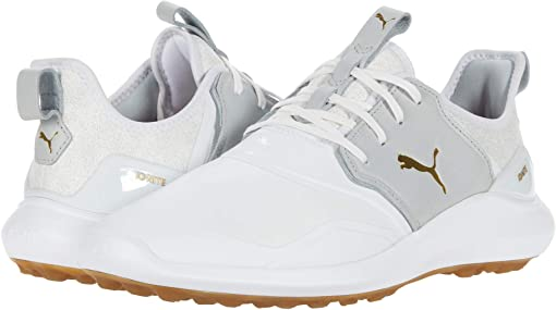 Puma White/High-Rise/Puma Team Gold