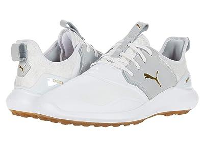 PUMA Golf Ignite Nxt Crafted (Puma White/High-Rise/Puma Team Gold) Men
