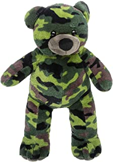 Cuddly Soft 16 inch Stuffed Camouflage Teddy Bear - We stuff 'em...you love 'em!