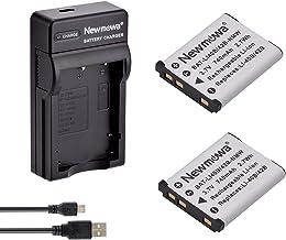 Newmowa Li-42B Batería (2-Pack) y Kit Cargador Micro USB portátil para Olympus Li-42B, Li-40B and Olympus Stylus 1040, 1050W, 1060, 1070, 1200, 7000, 7010, 7020, 7030, 7040