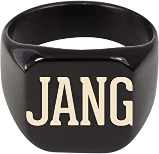 Molandra Products Jang - Adult Last Name Stainless Steel Ring
