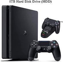 NexiGo 2020 Playstation 4 PS4 1TB Console Holiday Bundle Charging Dock Bundle