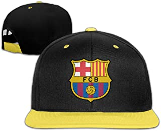 Big Girls' Men Caps Fútbol Club Barcelona Adjustable Custom Snapback
