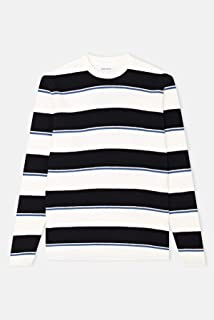 Norse Projects Johannes Textured Stripe Long Sleeve T-Shirt