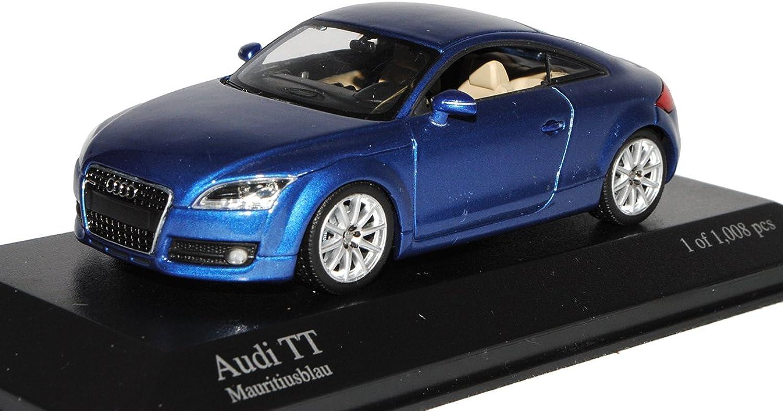 Minichamps Audi TT 8J Coupe Dunkel Blau 2. Generation 2006-2014 1 43 Modell Auto B00QAHFN5E Zu einem erschwinglichen Preis  | Zu einem erschwinglichen Preis