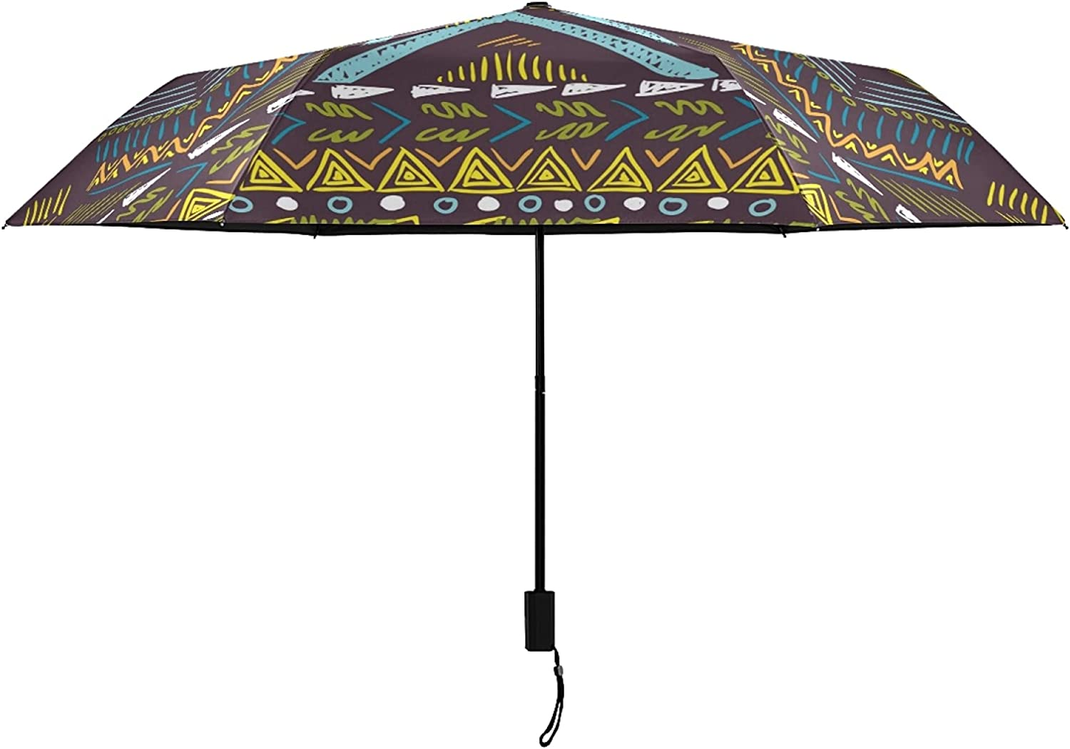 Beauty products Genuine Exotic Abstract Pattern UV Protection Umbrella for Outside Women