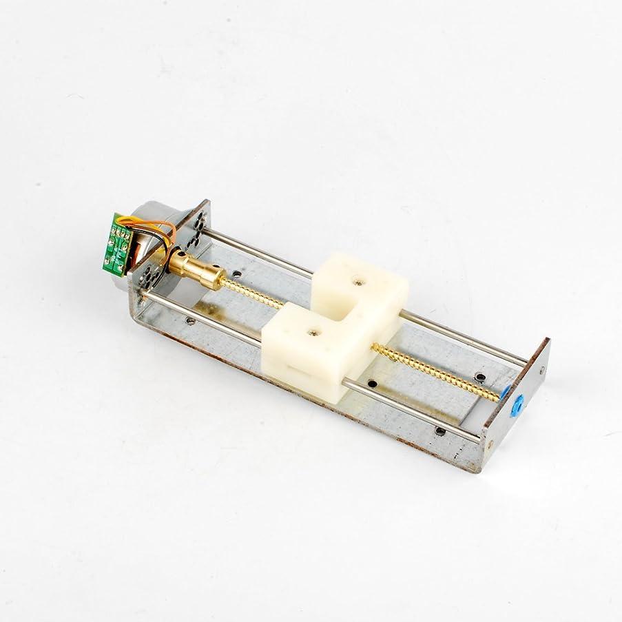 雹頬動力学ナットスライダー2相4線付きDC 4-9Vドライブステッピングモーターネジ