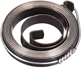 uxcell Drill Press Return Spring, Quill Spring Feed Return Coil Spring Assembly, 3.3Ft Long, 42 X 8 X 0.8mm
