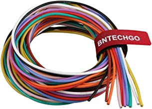 BNTECHGO 18 Gauge Silicone Wire Kit Ultra Flexible 10 Color High Resistant 200 deg C 600V Silicone Rubber Insulation 18 AW...
