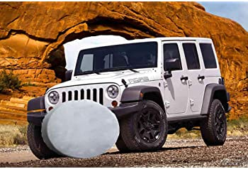 14,15,16,17 Inch BlirhTD 19th Special Forces Group Airborne Spare Tire Cover Universal Wheel Covers for RV SUV Truck Camper Accessories