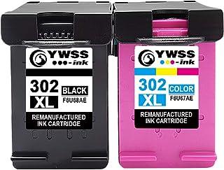 comprar comparacion YWSS Remanufacturado Cartuchos de Tinta Reemplazo para HP 302 XL 302XL (1 Negro, 1 Tricolor) Compatible con HP Envy 4520 4...