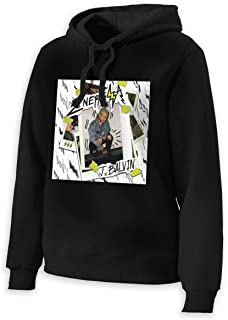 J Balvin Women's Casual Pullover Hoodies Long Sleeve Shirt Hooded Crewneck Sweatshirts Top
