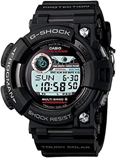 Casio G-Shock Frogman Digital Dial Black Resin Solar Quartz Mens Watch GWF1000-1