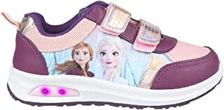 CERDÁ LIFE'S LITTLE MOMENTS Cerdá-Zapatilla con Luces Frozen de Color Lila, Niñas
