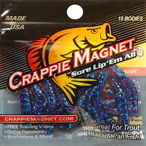 Leland Lures 87231 Crappie Magnet Hard Bait, Blue Finish