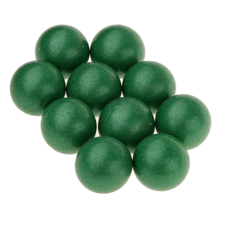 特異性時制ファントムPerfeclan ガラス玉 玩具 ビー玉ゲーム ビー玉 ジャンプ球 花瓶 水槽 庭装飾 おもちゃ 25mm 10個 全3カラー - 緑