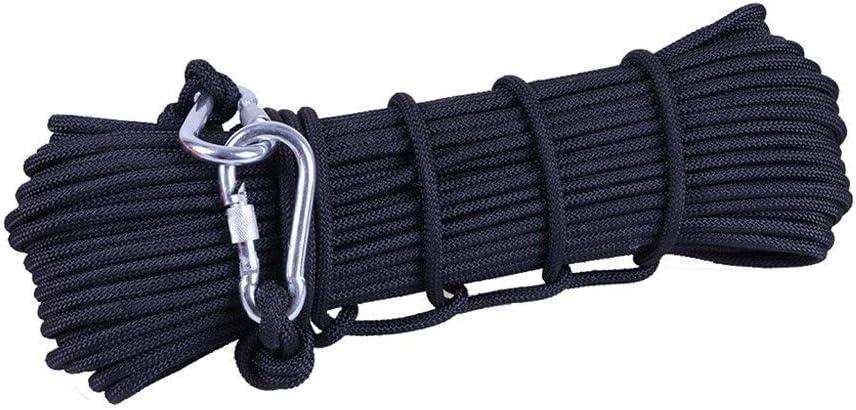 ZWJ-Cuerda para escalar Cuerda De Escalada Negra Cuerda De ...