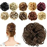 FESHFEN Synthetic Hair Bun Extensions