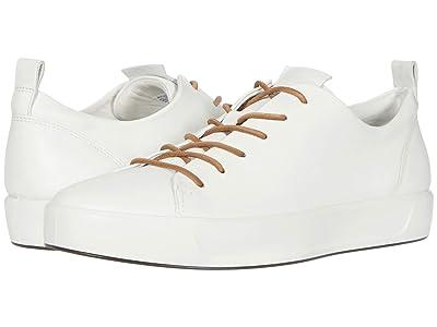 ECCO Soft 8 Dritantm Luxe (White) Men