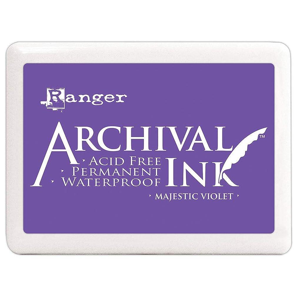 Ranger Archival Ink Jumbo Ink Pad #3-Majestic Violet