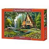 CASTORLAND Toadstool Cottage 2000 pcs Puzzle - Rompecabezas (Puzzle...